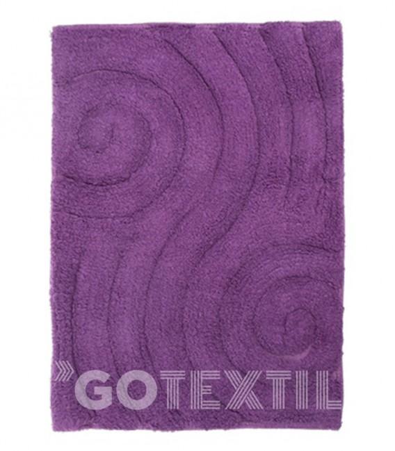 Alfombra de baño CAMILA Kotibe Algodón 100% color lila