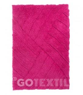 Alfombra de baño AGATHA Kotibe Algodón 100% color fucsia
