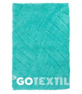 Alfombra de baño AGATHA Kotibe Algodón 100% color turquesa