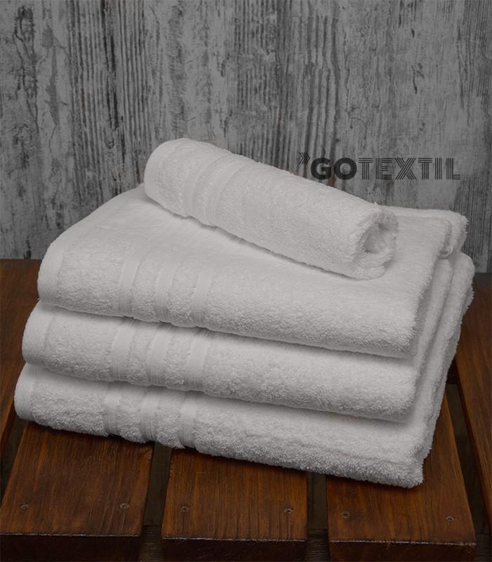 Toalla rizo americano algod n 100 suave y absorvente de color blanco - Toallas de algodon ...