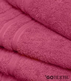 Detalle de la Toalla de Rizo Americano Algodón 100% Color Rosetón