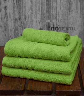Toalla de Rizo Americano Algodón 100% Color Verde