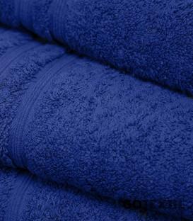Detalle de la Toalla de Rizo Americano Algodón 100% Color Azulón