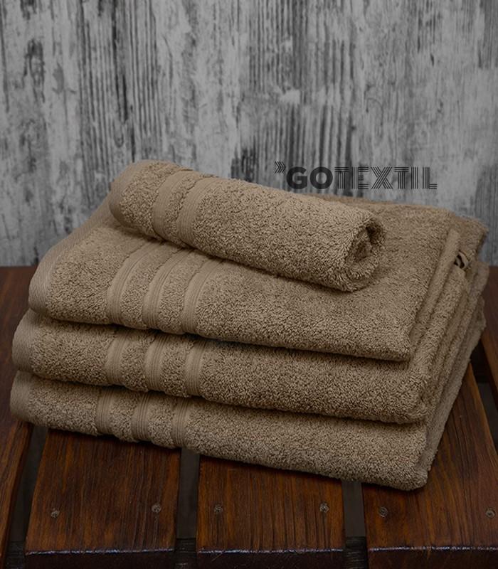 Toalla rizo americano algod n 100 suave y absorvente de color arena - Toallas de algodon ...