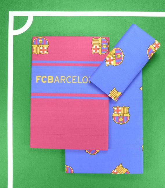Juego de Sábanas F.C. Barcelona 3 Piezas