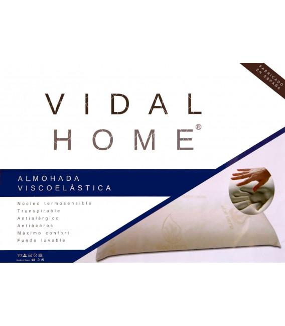 Presentación de la Almohada viscoelástica de Viaje 43x24x10cm.