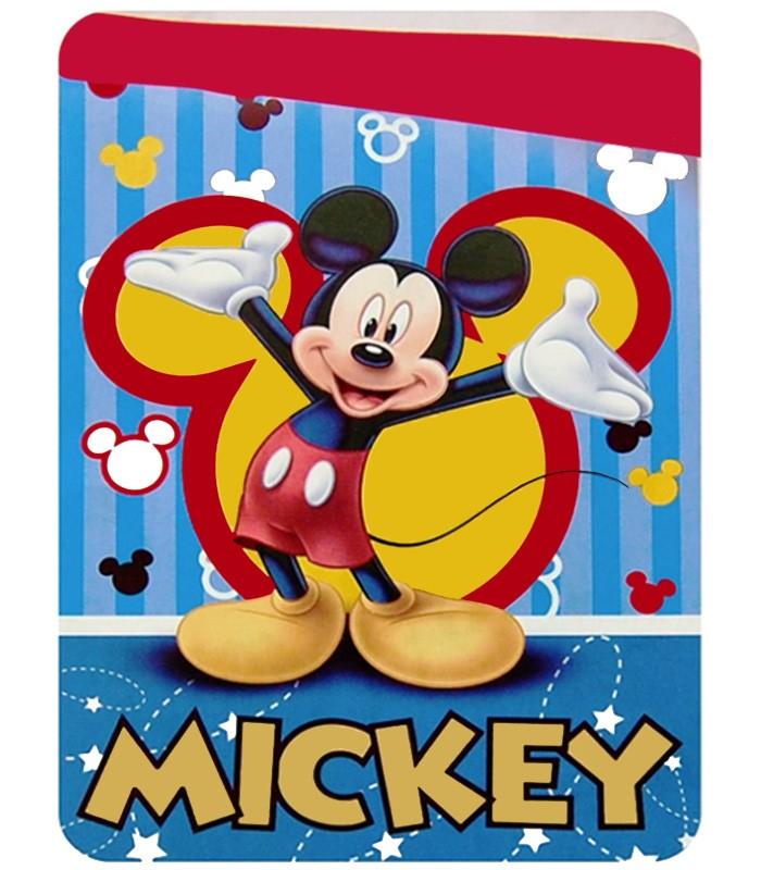 Edredón nórdico Mickey Mouse 180x260cm color único camas de 90 y 105cm
