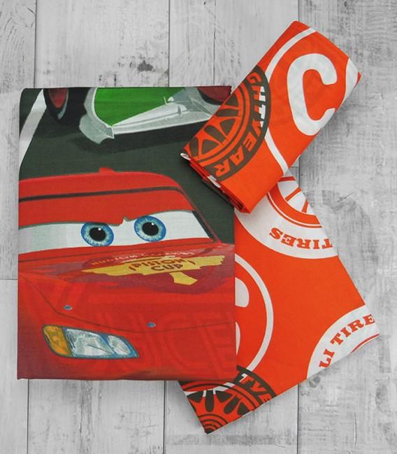 Juego de Sábanas Cars Fórmula Racers 3 Piezas