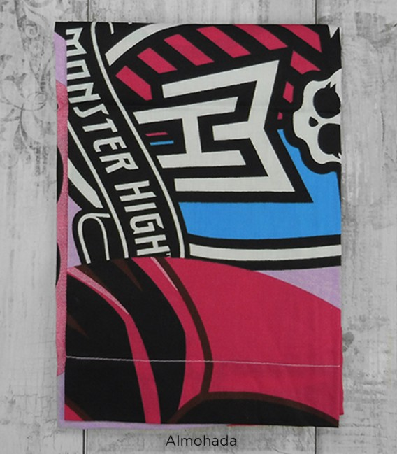 Almohada del Juego de Sábanas Monster High Friends