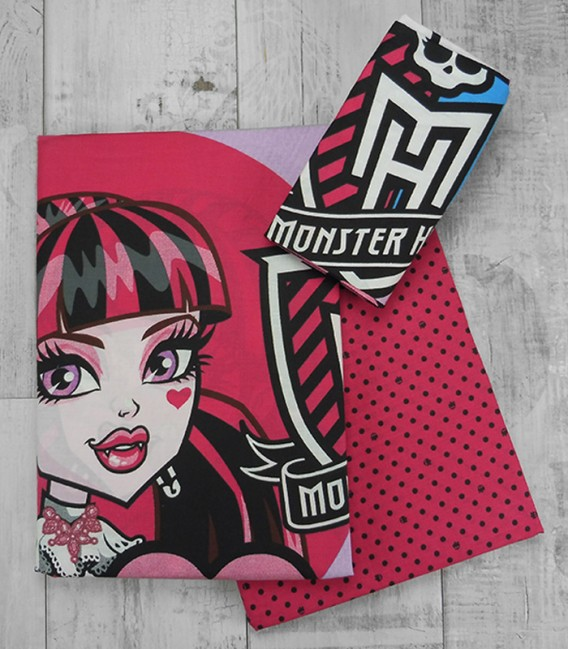 Juego de Sábanas Monster High Friends 3 Piezas