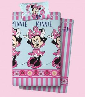 Juego de Sábanas 3 Piezas Minnie Mouse 008