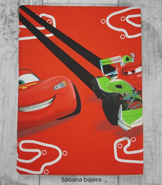 Bajera del Juego de Sábanas Cars Rayo McQueen