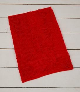 Alfombra de Microfibra Súper Absorbente Color Rojo