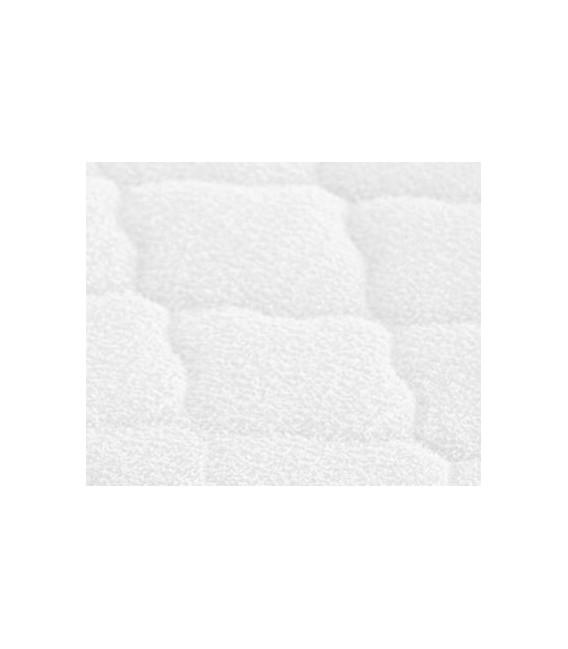 Protector colchón de cuna con rizo acolchado