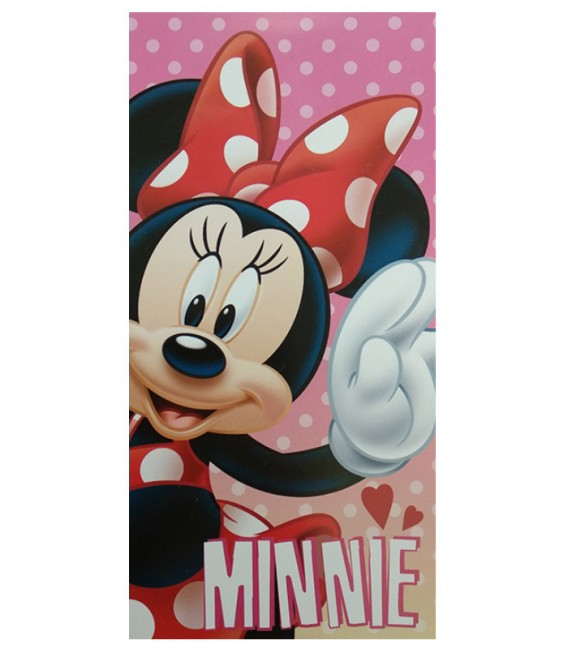 Toalla Playa MINNIE MOUSE 70X140 Algodón