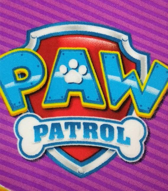Detalle del tejido de la Toalla Playa Paw Patrol SKYE Y EVEREST 70X140 Microfibra