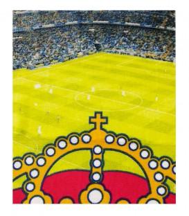 Detalle del tejido de la Toalla Real Madrid modelo ESTADIO. Algodón 100%