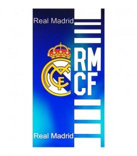 Toalla Real Madrid modelo ESCUDO. Algodón 100%