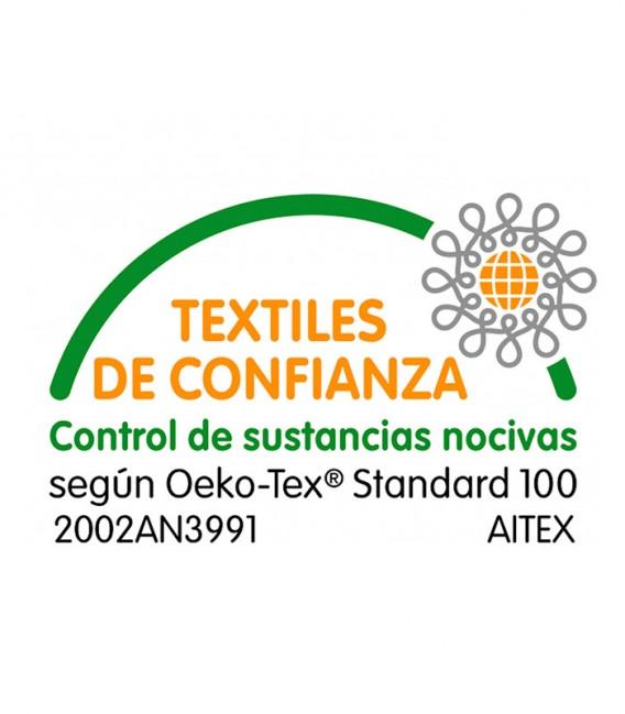 Certificado OEKO-TEX® del Protector de colchón ALTEA Impermeable y Transpirable Belnou