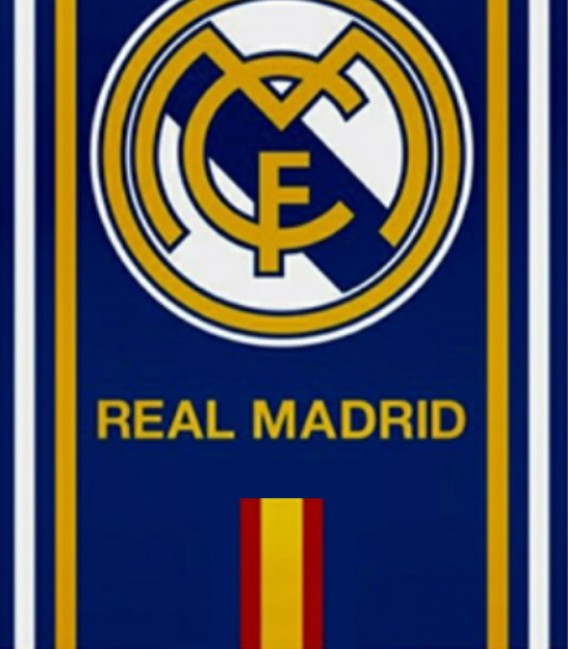 Detalle de la Toalla de Algodón Real Madrid RM173026