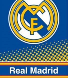 Detalle de la Toalla Real Madrid RM173025 de poliéster