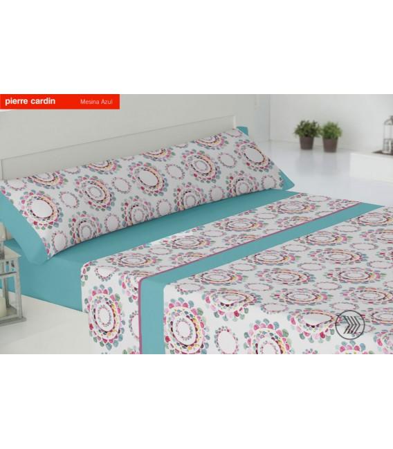 Vista Previa del Juego de sábanas MESINA Azul Pierre Cardín