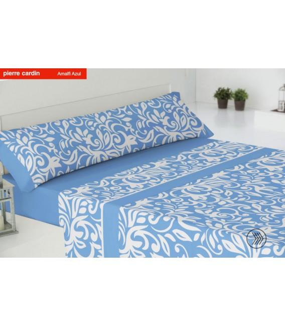 Vista Previa del Juego de sábanas AMALFI Azul Pierre Cardín