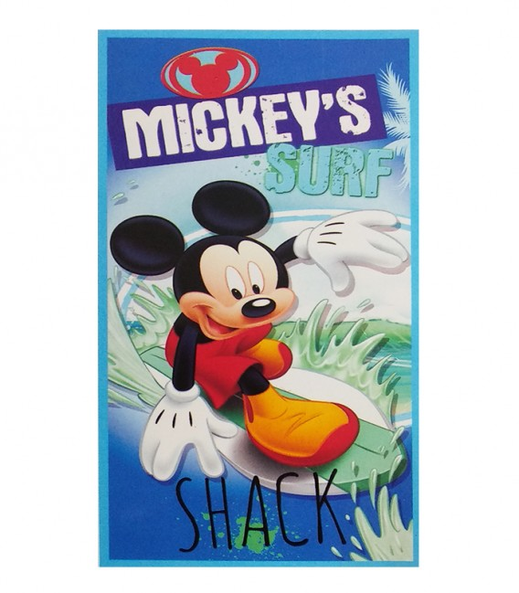 Vista Previa de la Toalla playa Disney MICKEY MOUSE SHACK 92115 microfibra 70x140cm