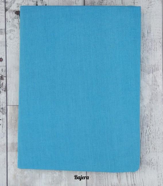 Bajera del Juego de Sábanas Algodón LACE Azul