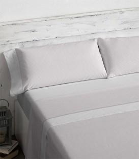 Vista Previa del Juego de sábanas 466 Maquillaje Burrito Blanco
