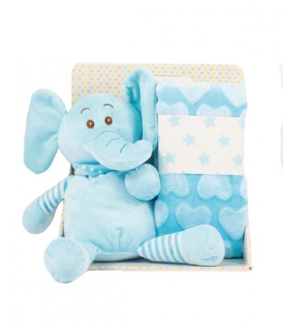 Muñeco Manta 21192 Baby Happy 2 Piezas