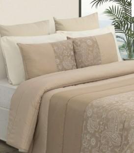 Detalle Cojines del Bouti confort Estilo modelo EVA Beige Tolrá