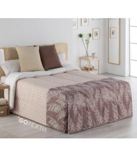 Vista Previa del Edredón Conforter SICILIA Beige Sansa Print