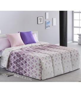 Vista Previa del Edredón Conforter KANSAS Lila Sansa Print