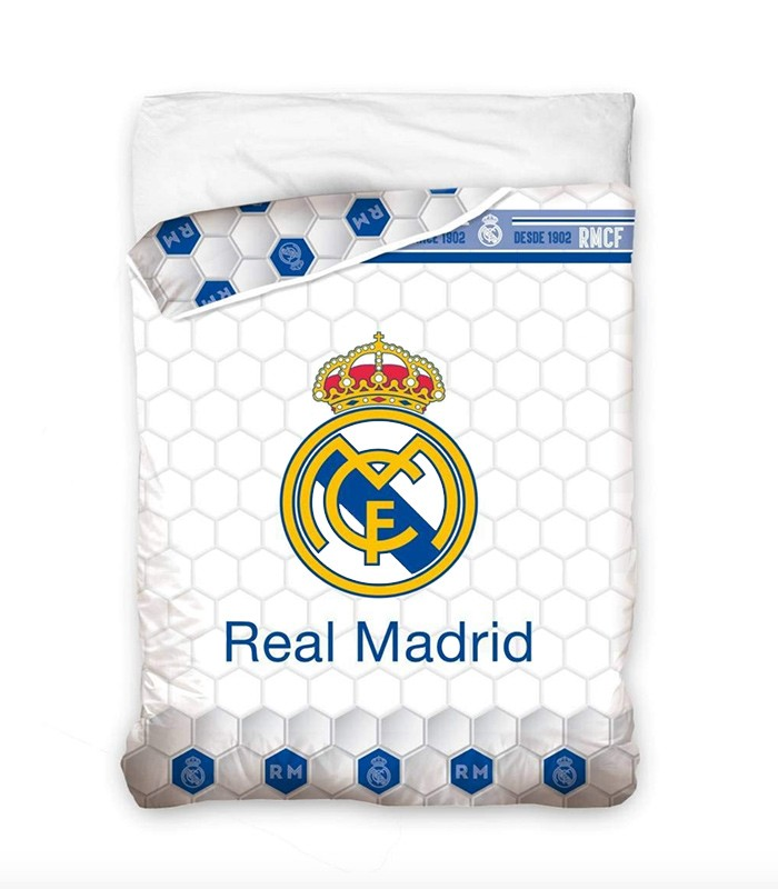 Cojin Edredon Real Madrid.Edredon Nordico Real Madrid Escudo Rm182057