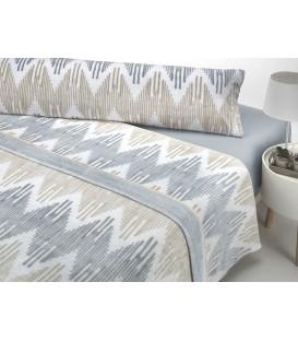 Vista Previa del Juego de Sábanas Invierno MICROCORAL G25 Gris Textils Mora