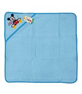 Capa de Baño con capucha MICKEY Azul Algodón Disney baby