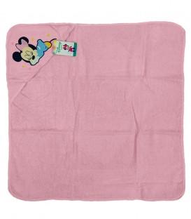Capa de Baño con capucha MINNIE Rosa Algodón Disney baby