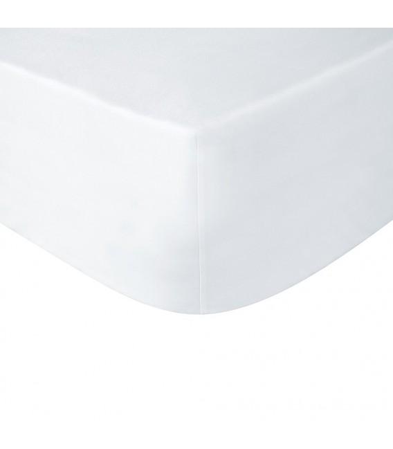 Sábana bajera ajustable Blanca algodón 100% La Marioneta