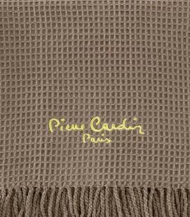 Detalle del tejido del Plaid para Cama y Sofá Modelo 900 PARIS Color Visón