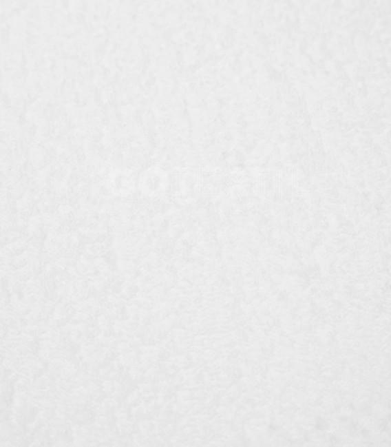 Detalle del Tejido de la Funda de colchón Odessa blanco de rizo elástico de algodón