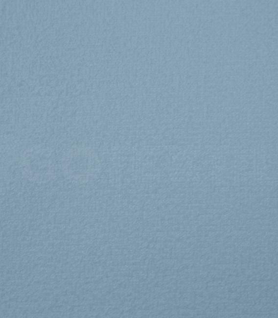 Detalle del Tejido de la Funda de colchón Mistral azul de rizo elástico de algodón