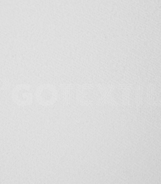 Detalle del Tejido de la Funda de colchón Mistral blanco de rizo elástico de algodón