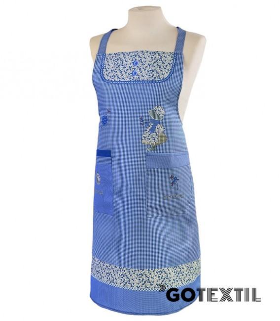 Delantal Antimanchas 61191 Color Azul