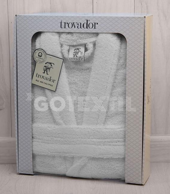 Caja del Albornoz Trovador Calypso Blanco