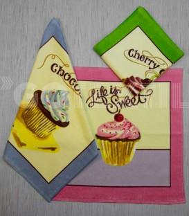 Paños de Cocina Trovador Modelo Madalenas Todos los Colores