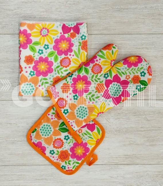 Todos los productos del Set 3 Piezas Cocina Re23 Naranja