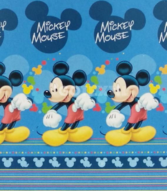 Detalle del Dibujo del Juego Sábanas Verano Disney MICKEY MOUSE 8BS Asditex