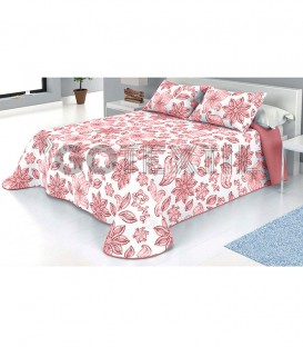 Colcha Bouti Estampada MAR Color Rosa. Home'secret