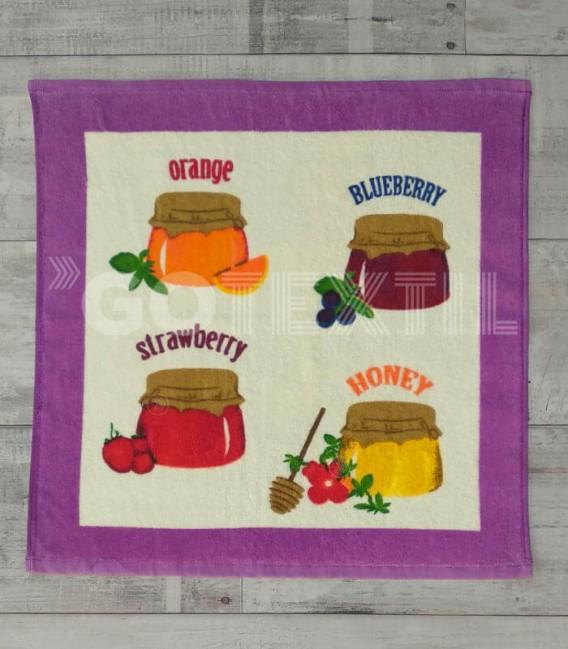 Paño de Cocina Trovador Modelo 225 MERMELADA Color Lila